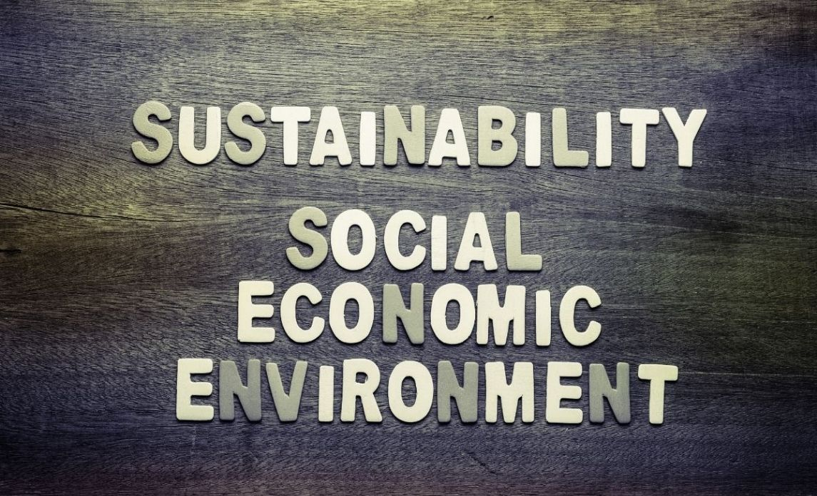 Sustainability has social economic and environmental aspects to it