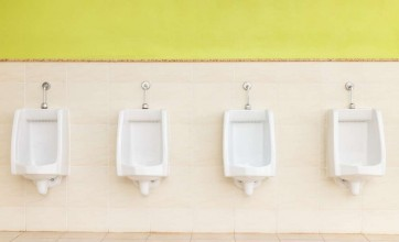 Cleaning public toilets or bathrooms efficiently