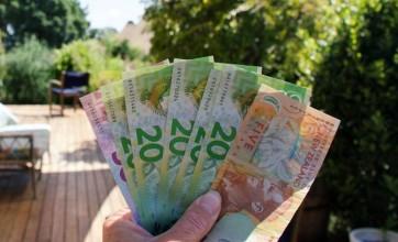 New Zealand money bills salary