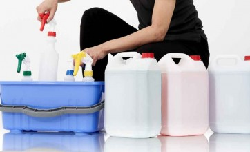 Sorting cleaning products