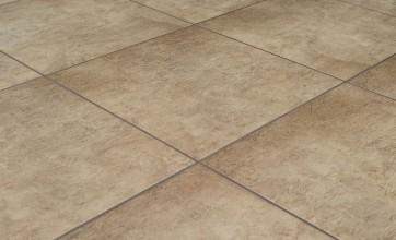 Buffing tile floors