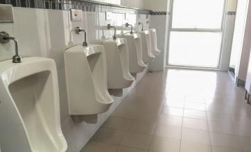 Urinal at school