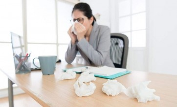 Office allergies may affect workers' productivity