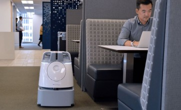 Softbank cleaning robot