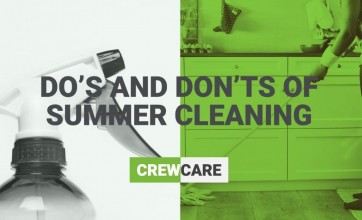 Summer cleaning dos and donts