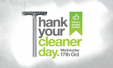 Thank Your Cleaner Day 2018 poster from Crewcare
